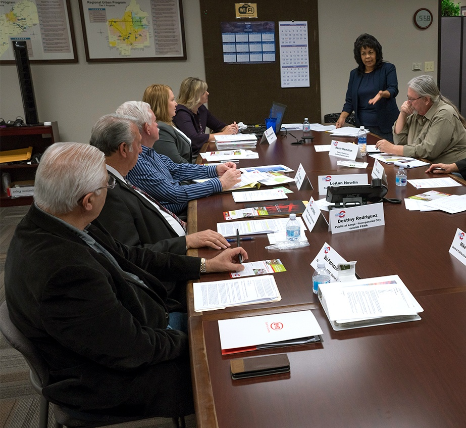 Citizens Oversight Committee board meeting