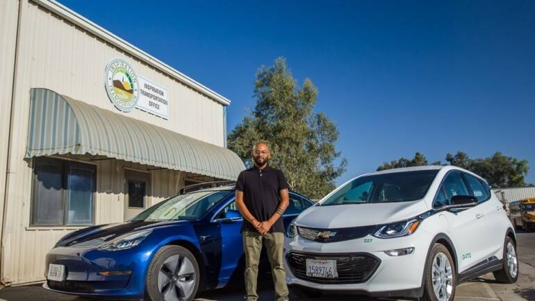 New Electric Rideshare Program 'REV-UP' in Rural Fresno